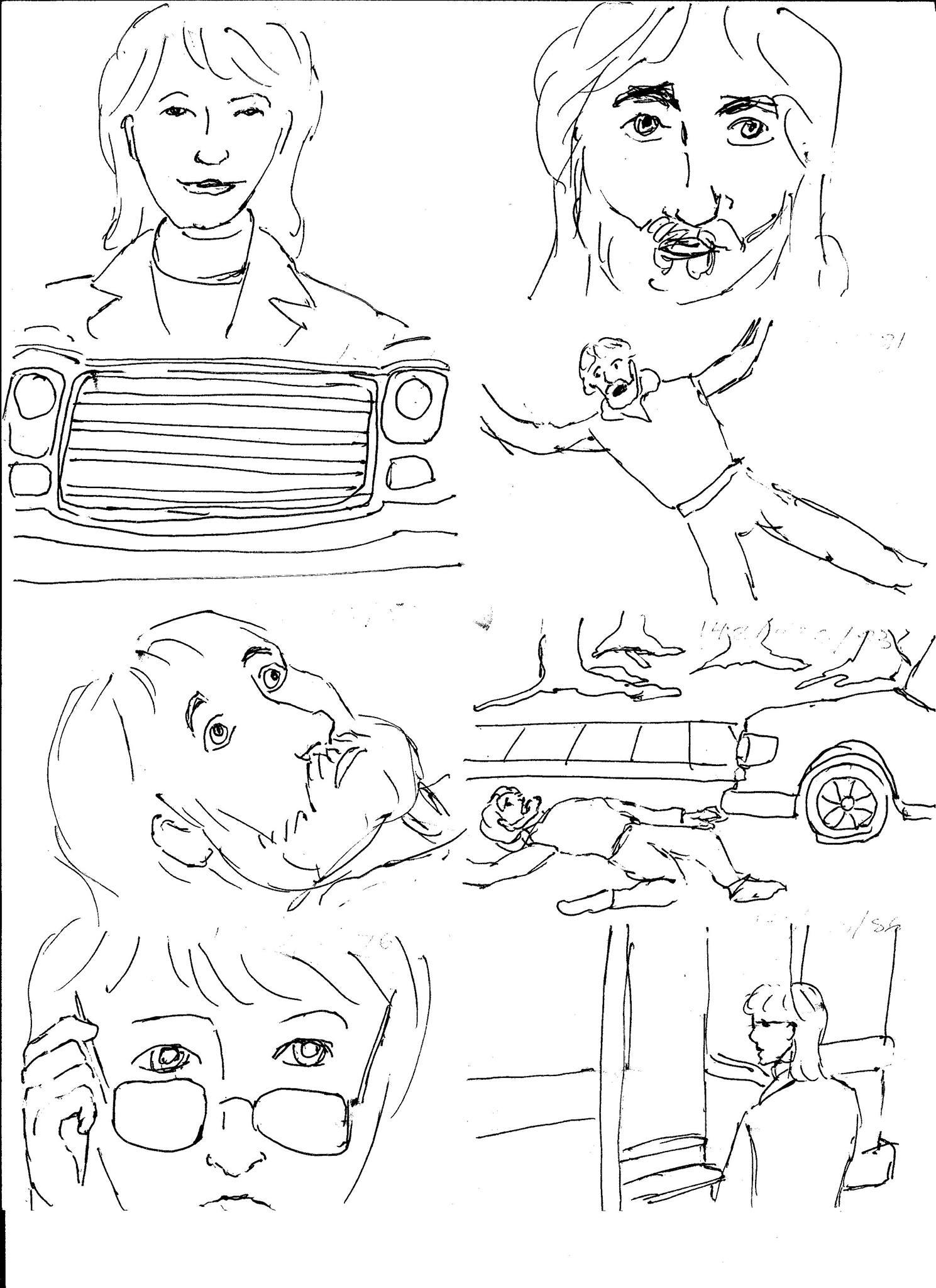 Ariel Storyboard