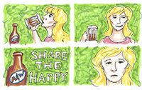 A&W Root Beer - Share the Happy