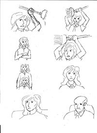 The Littlest Cthulhuist Storyboard